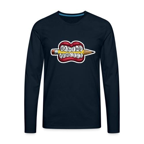 Raging Pencils Bargain Basement logo t-shirt - Men's Premium Long Sleeve T-Shirt