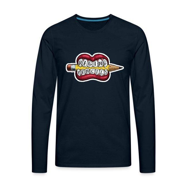 Raging Pencils Bargain Basement logo t-shirt