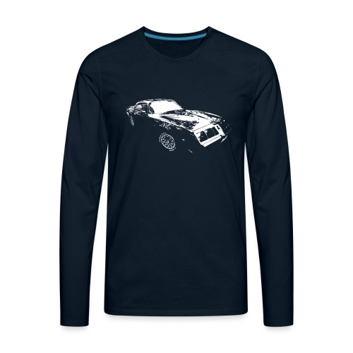 Classic Car - Men's Premium Long Sleeve T-Shirt