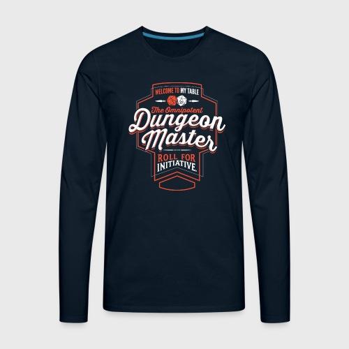 Dungeon Master - Men's Premium Long Sleeve T-Shirt