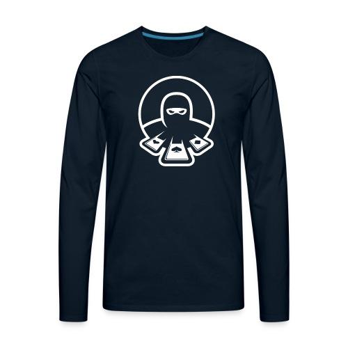 Nertz Master Icon Snow - Men's Premium Long Sleeve T-Shirt