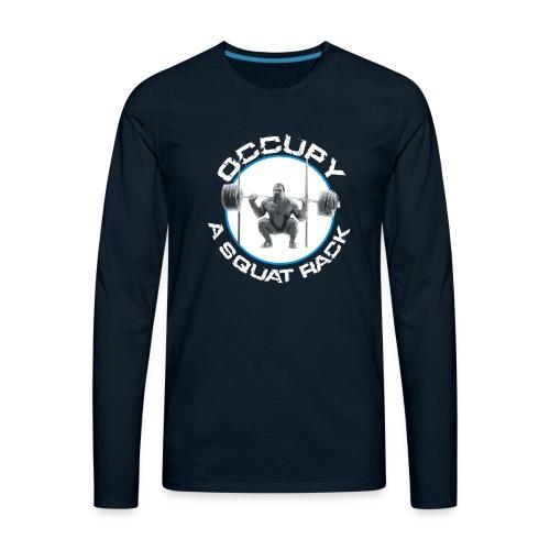 occupysquat - Men's Premium Long Sleeve T-Shirt