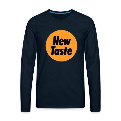 New Taste - Men's Premium Long Sleeve T-Shirt