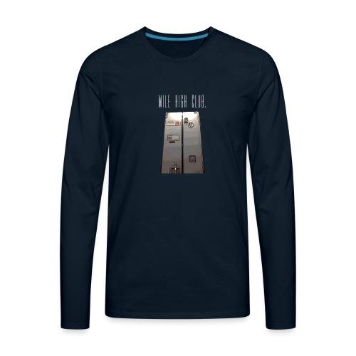 MILE HIGH CLUB - Men's Premium Long Sleeve T-Shirt