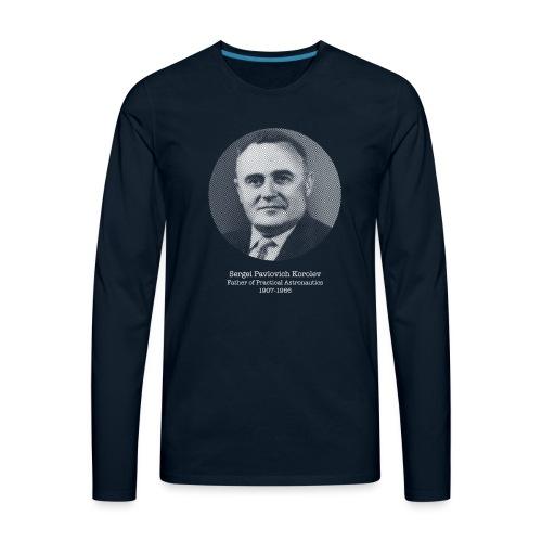 Sergei Pavlovich Korolev - Men's Premium Long Sleeve T-Shirt