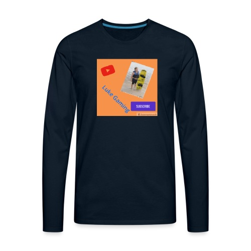 Luke Gaming T-Shirt - Men's Premium Long Sleeve T-Shirt