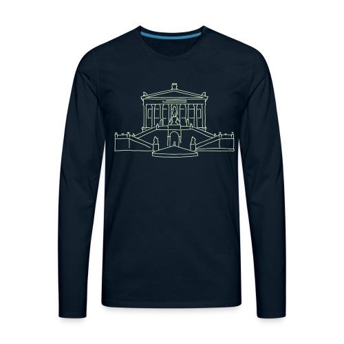 Nationalgalerie Berlin - Men's Premium Long Sleeve T-Shirt