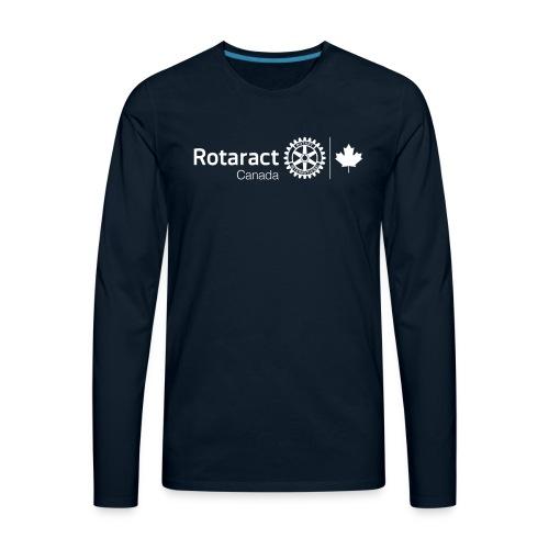 Rotaractor At Work - White - Men's Premium Long Sleeve T-Shirt