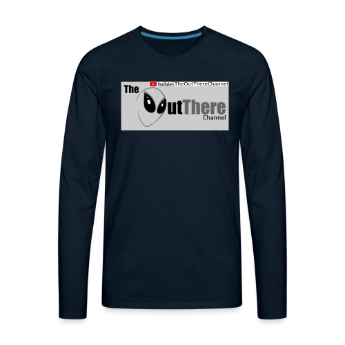 Tshirt OTchan Banner v3 2018 11 05 with Back PINKY - Men's Premium Long Sleeve T-Shirt