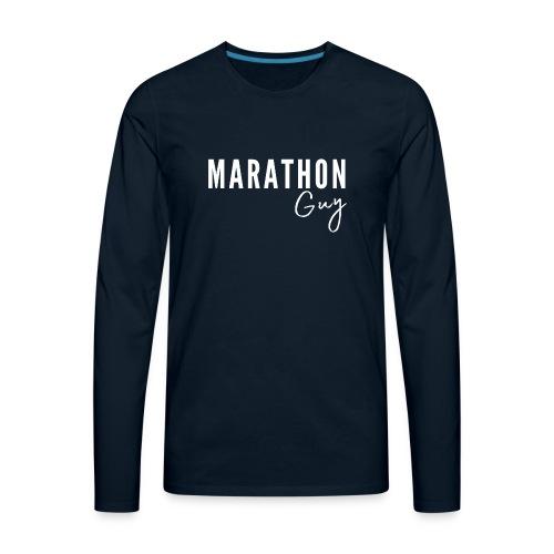 Marathon Guy - Men's Premium Long Sleeve T-Shirt