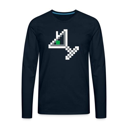 item martini - Men's Premium Long Sleeve T-Shirt