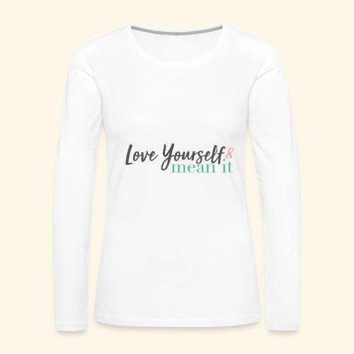 LYMI Logo Full Name - Women's Premium Long Sleeve T-Shirt