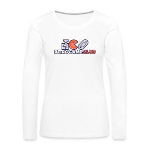 Retro Game Club - Women's Premium Long Sleeve T-Shirt