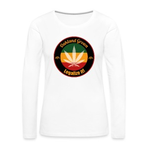 Oakland Grown Cannabis 420 Wear - Women's Premium Long Sleeve T-Shirt