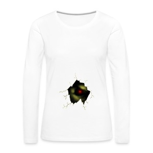 Broken Egg Dragon Eye - Women's Premium Long Sleeve T-Shirt
