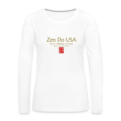 Zen Do USA - Women's Premium Long Sleeve T-Shirt