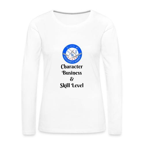 SB Seal Design - Women's Premium Long Sleeve T-Shirt