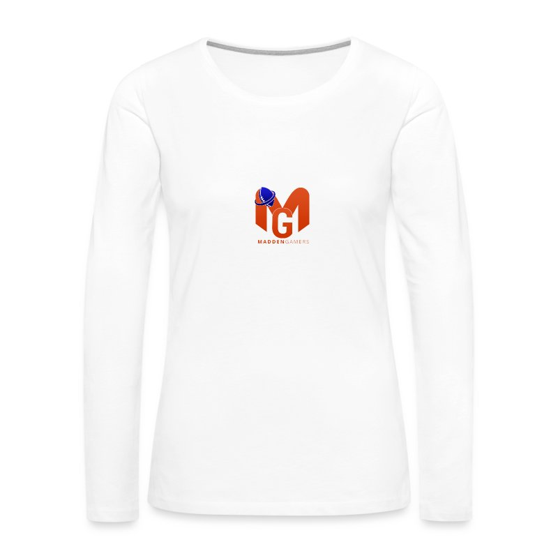 MaddenGamers MG Logo - Women's Premium Long Sleeve T-Shirt