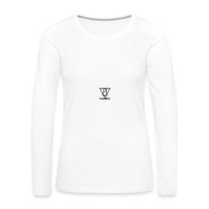 Falluminati on your phone by Umberto Lizard - Women's Premium Long Sleeve T-Shirt