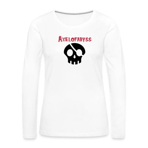 skull pirate 2 - Women's Premium Long Sleeve T-Shirt