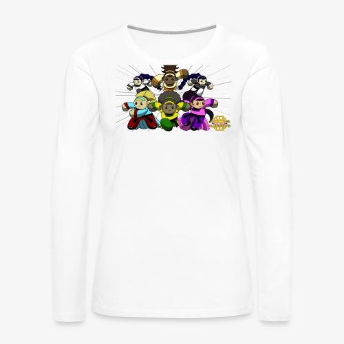 The Guardians of the Cloudgate w/ Logo - Women's Premium Long Sleeve T-Shirt