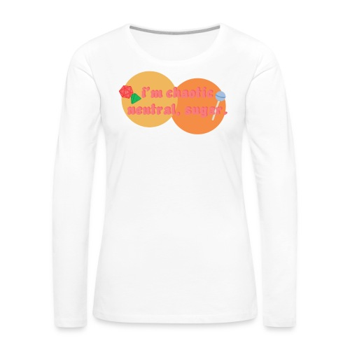Chaotic Neutral - Women's Premium Long Sleeve T-Shirt