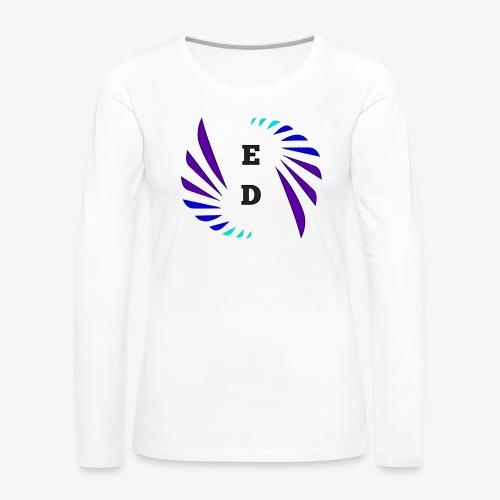 Entertainment Daily Logo - Women's Premium Long Sleeve T-Shirt