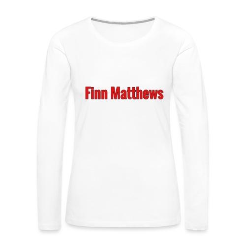 FM Logo - Women's Premium Long Sleeve T-Shirt