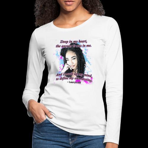 Define My Destiny - Women's Premium Long Sleeve T-Shirt