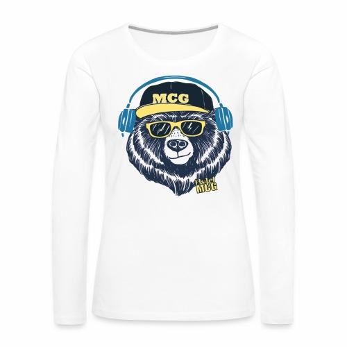 MCG BEAR - Women's Premium Long Sleeve T-Shirt