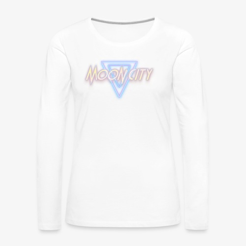 Moon City Logo - Women's Premium Long Sleeve T-Shirt