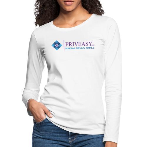 Design 1 - Women's Premium Slim Fit Long Sleeve T-Shirt