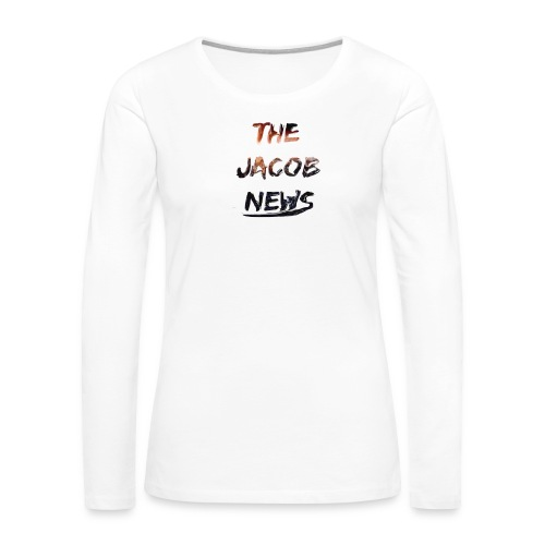 jacob news - Women's Premium Long Sleeve T-Shirt