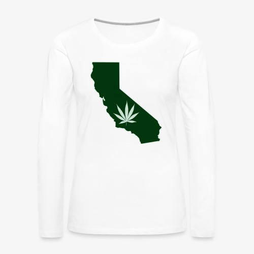 weed - Women's Premium Slim Fit Long Sleeve T-Shirt