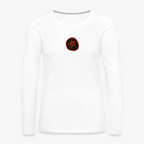 SCRATCHED MASK MK III - Women's Premium Long Sleeve T-Shirt