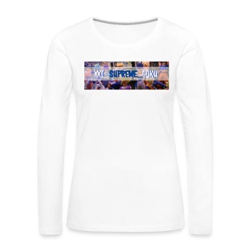 XXI SUPREME GOKU LOGO 2 - Women's Premium Long Sleeve T-Shirt