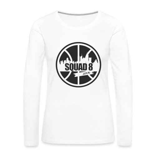 tshirt png - Women's Premium Slim Fit Long Sleeve T-Shirt
