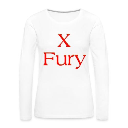 X Fury - Women's Premium Long Sleeve T-Shirt