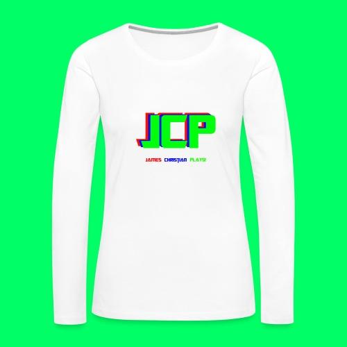 James Christian Plays! Original Set - Women's Premium Long Sleeve T-Shirt