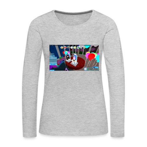 prom queen - Women's Premium Slim Fit Long Sleeve T-Shirt