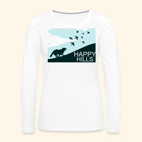 Happy hills - Women's Premium Long Sleeve T-Shirt