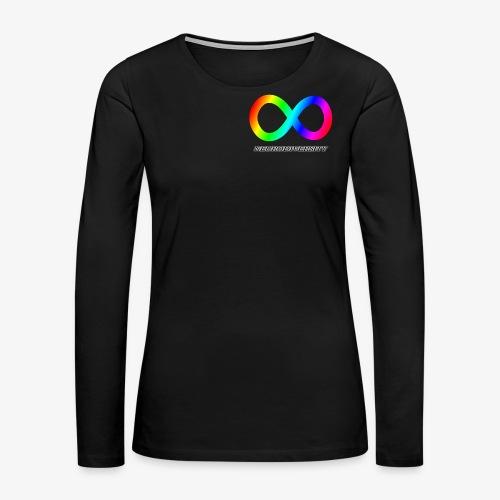 Neurodiversity - Women's Premium Long Sleeve T-Shirt