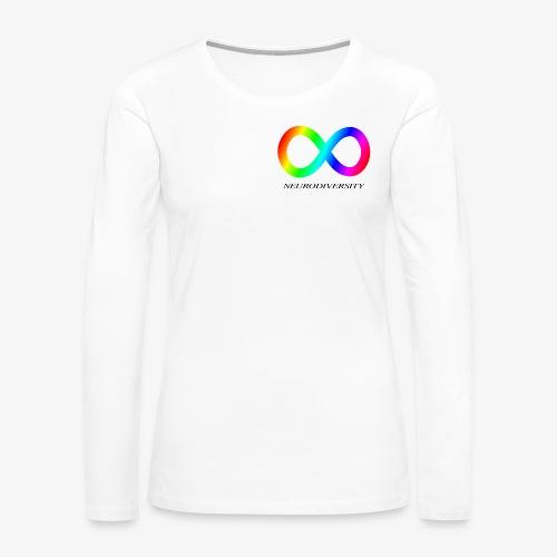 Neurodiversity - Women's Premium Slim Fit Long Sleeve T-Shirt