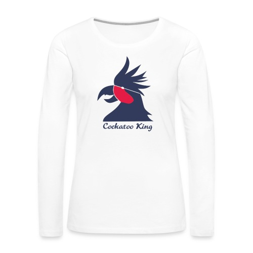 Cockatoo Logo - Women's Premium Long Sleeve T-Shirt