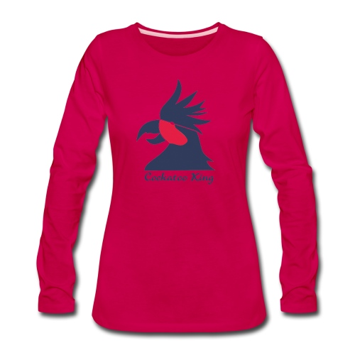 Cockatoo Logo - Women's Premium Long Sleeve T-Shirt