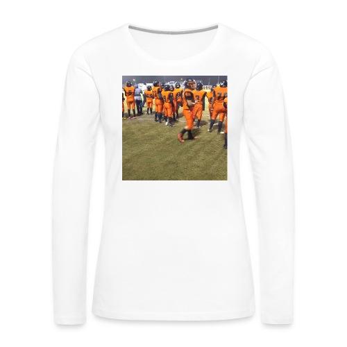 Football team - Women's Premium Long Sleeve T-Shirt