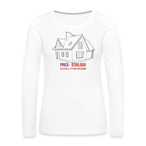 Fannie & Freddie Joke - Women's Premium Long Sleeve T-Shirt