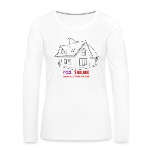 Fannie & Freddie Joke - Women's Premium Slim Fit Long Sleeve T-Shirt
