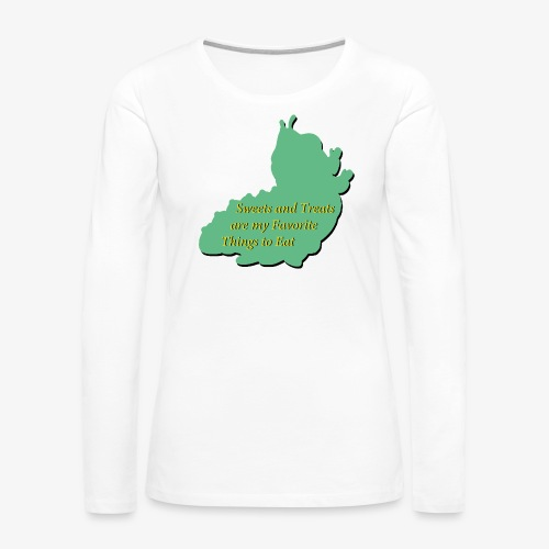 Sweets and Treats on the Chew Chew Train - Women's Premium Long Sleeve T-Shirt