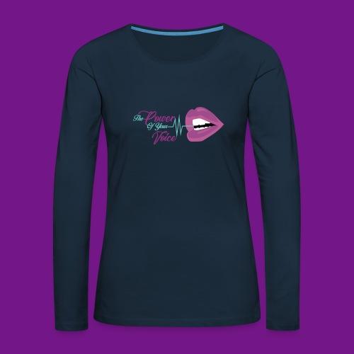 PYV Essentials - Women's Premium Slim Fit Long Sleeve T-Shirt